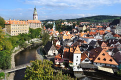 Cesky Krumlov.Czech republic Royalty Free Stock Photo