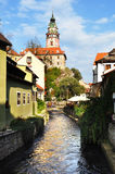 Cesky Krumlov.Czech republic Stock Photos
