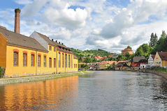 Cesky Krumlov, Czech Republic Stock Photography