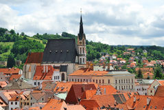 Cesky Krumlov, Czech republic Royalty Free Stock Images