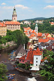 Cesky Krumlov, Czech Republic Stock Photos
