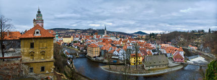 Cesky Krumlov ,Czech Republic, Royalty Free Stock Photos