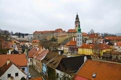 Cesky Krumlov, Czech republic Royalty Free Stock Images
