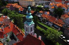 Cesky Krumlov, Czech Republic. The city of Cesky Krumlov, Czech Republic Stock Photo
