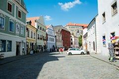 Cesky Krumlov. In Czech Republic Stock Photography
