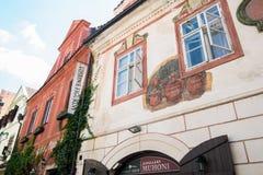 Cesky Krumlov. In Czech Republic Stock Photo