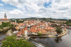 Cesky Krumlov, Czech Republic Stock Image