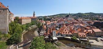 CESKY KRUMLOV, Czech Republic, The Castle and City Royalty Free Stock Photo