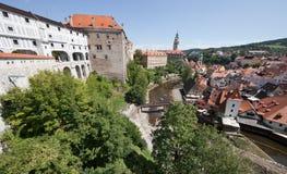 CESKY KRUMLOV, Czech Republic, The Castle and City Royalty Free Stock Photos