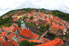 Cesky Krumlov, Czech republic Royalty Free Stock Image
