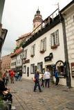 Cesky Krumlov, Czech republic, Czechia, Heritage Stock Photo