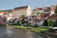CESKY KRUMLOV, CZECH REPUBLIC, The Historical Houses Royalty Free Stock Photography