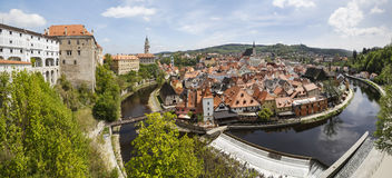 Cesky Krumlov in the Czech republic royalty free stock image