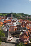 CESKY KRUMLOV, CZECH REPUBLIC, The St. Vit Chur Royalty Free Stock Image