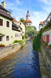 Cesky Krumlov, Czech Republic, UNESCO World Heritage Site Stock Image