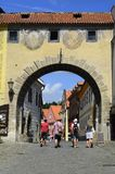 Cesky Krumlov, Czech Republic, cityview royalty free stock photo