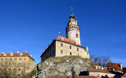 Cesky Krumlov. (Czech Republic) - a view of the castle (UNESCO Stock Photography