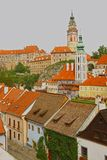 Cesky Krumlov, Czech Republic. View of historic town Cesky Krumlov in Czech Republic Royalty Free Stock Photography