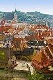 Cesky Krumlov, Czech Republic. View of historic town Cesky Krumlov in Czech Republic Royalty Free Stock Image