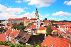 Cesky Krumlov, Czech Republic Stock Photo