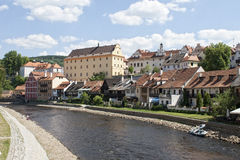 Cesky Krumlov, Czech Repuplic Royalty Free Stock Photography