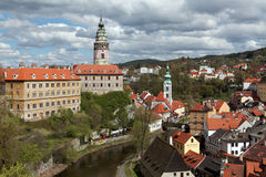Cesky Krumlov in the Czech Royalty Free Stock Image