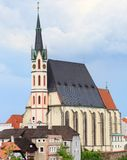 Cesky Krumlov / Krumau, Saint Vitus Cathedral Stock Images