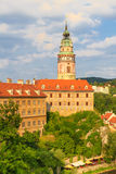 Cesky Krumlov / Krumau, View on Castle und River Stock Photos