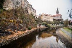 Cesky Krumlov - like a point of turistic destination Stock Image