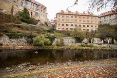 Cesky Krumlov - like a point of turistic destination Royalty Free Stock Image