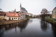 Cesky Krumlov - like a point of turistic destination Royalty Free Stock Photography