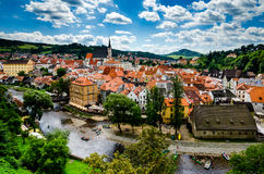 Cesky Krumlov. Nice city in Czech republic Royalty Free Stock Photography