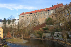 Cesky Krumlov Old Castle Stock Images