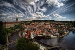 Cesky Krumlov, old town Royalty Free Stock Photo
