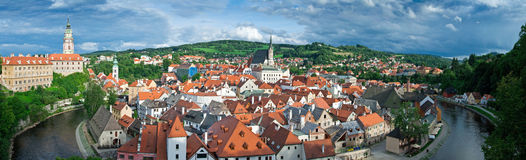 Cesky Krumlov - Panorama Stock Photography