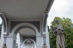 CESKY KRUMLOV, RÉPUBLIQUE DE BOHEMIA/CZECH - 17 SEPTEMBRE : État Cas photo stock