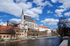 Cesky Krumlov, República Checa Foto de archivo libre de regalías