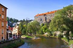 Cesky Krumlov, República Checa Fotografía de archivo libre de regalías