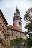 CESKY KRUMLOV, REPUBBLICA DI BOHEMIA/CZECH - 17 SETTEMBRE: Stato Cas immagine stock libera da diritti