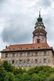 CESKY KRUMLOV, REPUBBLICA DI BOHEMIA/CZECH - 17 SETTEMBRE: Stato Cas immagini stock libere da diritti