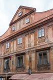 CESKY KRUMLOV, REPUBBLICA DI BOHEMIA/CZECH - 17 SETTEMBRE: Traditiona immagine stock