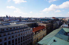 cesky krumlov republiki czech miasta średniowieczny stary widok Praga Obraz Stock