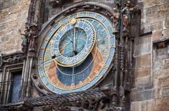 cesky krumlov republiki czech miasta średniowieczny stary widok Praga zegar Prague astronomiczne Obraz Stock