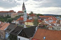 Cesky Krumlov, South Bohemia, Czech Republic Stock Photos