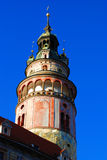 Cesky Krumlov Tower Royalty Free Stock Photography
