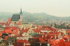 Cesky Krumlov town Royalty Free Stock Images