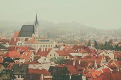 Cesky Krumlov town Royalty Free Stock Photos