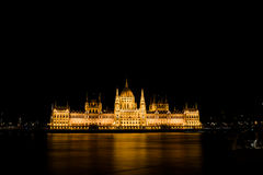 Houses of Parliament in Budapest Stock Image