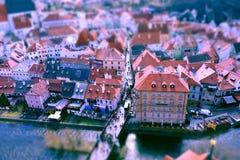 Cesky Krumlov, Tschechische Republik lizenzfreie stockfotografie