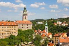 Cesky Krumlov, Tschechische Republik Stockbilder
